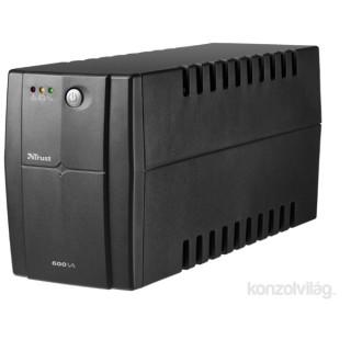 Trust 600VA UPS szünetmentes tápegység PC