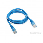 M-TECH CAT6 UTP kék 5m patch kábel PC