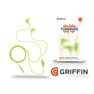 Griffin Tunebuds zöld fülhallgató PC