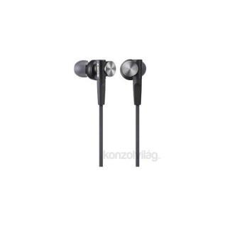 Sony MDRXB50B.AE Extra Bass fekete fülhallgató PC