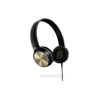 Pioneer SE-MJ532-N fekete fejhallgató PC