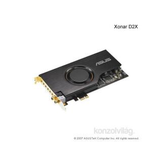 ASUS XONAR D2X/XDT PCIe hangkártya PC