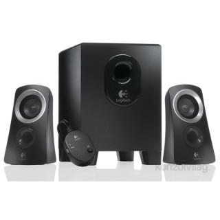 Logitech Z-313 jack 2.1 25W fekete hangszóró PC