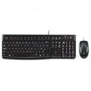 Logitech MK120 USB fekete HUN egér + billentyűzet PC