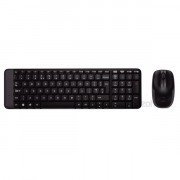 Logitech MK220 wless fekete HUN egér + billentyűzet PC