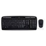 Logitech MK330 wless fekete HUN egér + billentyűzet PC