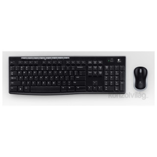 Logitech MK270 wless fekete HUN egér + billentyűzet PC