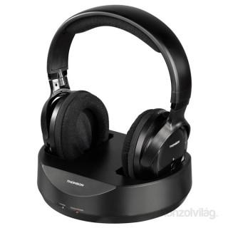 Hama 131957 Thomson WHP3001B vezeték nélküli fekete fejhallgató 5957a196a7
