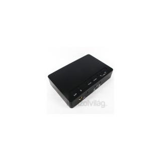 SpeedDragon 7.1 USB 16bit/48kHz külső hangkártya PC