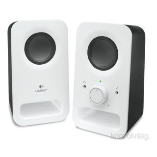 Logitech Z150 jack 2.0 6W fehér hangszóró PC