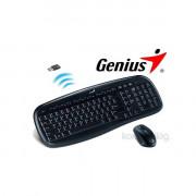 Genius KB-8000X wireless fekete HUN egér + billentyűzet PC