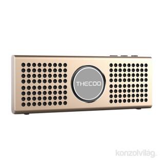 Thecoo BTD 708K arany Bluetooth hangszóró PC
