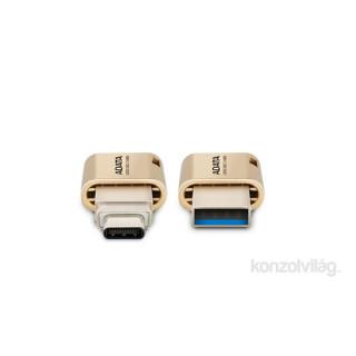 ADATA 64GB USB3.1 Type-C Arany (AUC350-64G-CGD) Flash Drive PC