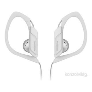 Panasonic RP-HS34E-W 3.5mm jack fehér-fekete clip on fülhallgató PC