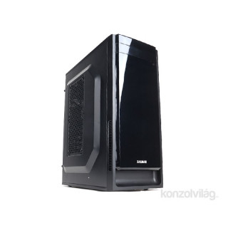 Zalman T2 Plus Fekete (Táp nélküli) mATX ház PC