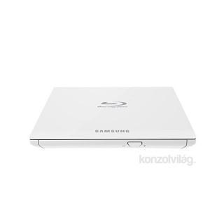 Samsung USB 4x SE-506CB/RSWDE dobozos fehér slim BluRay író PC