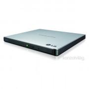 LG USB 10x GP57ES40 dobozos ezüst slim DVD író PC
