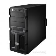 Cooler Master Elite Knight 350 táp nélküli fekete ATX ház PC
