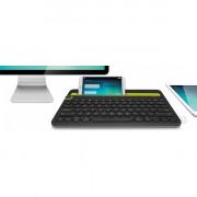 Logitech K480 Multi-device fekete Bluetooth US billentyűzet PC