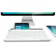 Logitech K480 Multi-device fehér Bluetooth US billentyűzet PC