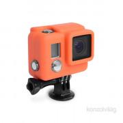 XSories Lite narancs gumírozott szilikon védőtok GoPro Hero3/3+/4-es kamerához PC