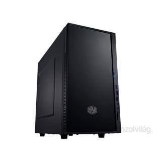 Cooler Master Silencio 352 táp nélküli fekete microATX ház PC