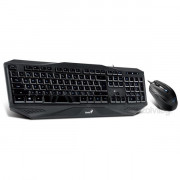 Genius KM-G230 USB HUN fekete Gamer egér + billentyűzet PC