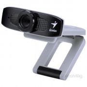 Genius FaceCam320 mikrofonos fekete-ezüst webkamera PC