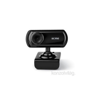 Acme Realistic mikrofonos fekete webkamera PC