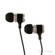 Sbox 0926S ezüst fém házu fülhallgató PC
