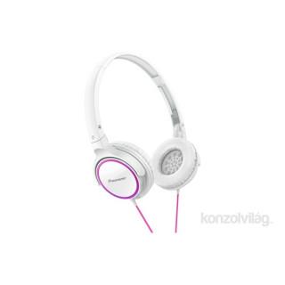 Pioneer SE-MJ512-R -W fehér fejhallgató PC