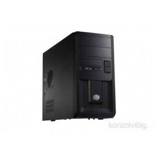 Cooler Master Elite 343 táp nélküli fekete microATX ház PC