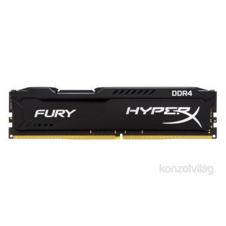Kingston 8GB/2400MHz DDR-4 HyperX FURY fekete (HX424C15FB2/8) memória PC