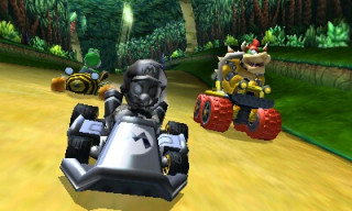 New Nintendo 2DS XL (Fekete & Lime Zöld) + Mario Kart 7 3DS