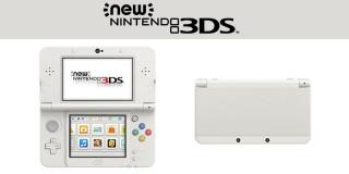 New Nintendo 3DS (Fehér) 3DS