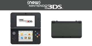 New Nintendo 3DS (Fekete) 3DS