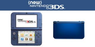 New Nintendo 3DS XL (Metál kék) 3DS