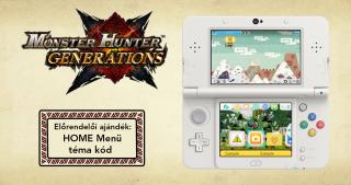 New Nintendo 3DS XL Monster Hunter Generations Edition 3DS
