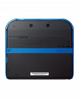 Nintendo 2DS (Fekete-Kék) + New Super Mario Bros. 2 3DS