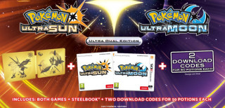 Pokémon Ultra Dual Edition (Ultra Sun + Ultra Moon) 3DS