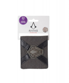 Assassin's Creed pénztárca metál jelvénnyel - Good Loot Ajándéktárgyak