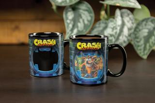 CRASH BANDICOOT - Hőérzékeny Bögre - Crash Bandicoot Ajándéktárgyak