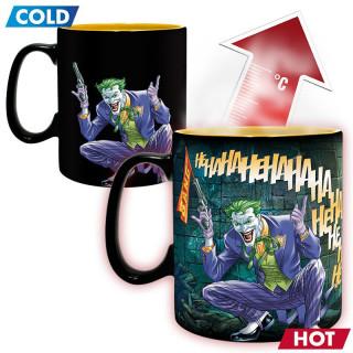 DC COMICS - Hőérzékeny Bögre - Batman & Joker (460ml) Ajándéktárgyak