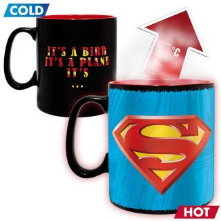 DC COMICS - Hőérzékeny Bögre - Superman (460ml) Ajándéktárgyak