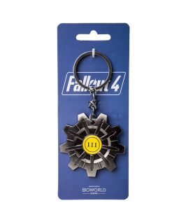 Fallout 4 Vault 111 Metal Keychain - Kulcstartó - Good Loot Ajándéktárgyak