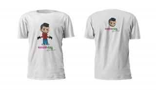 Konzolvilág Ricsi Póló (Fehér, XL) Ajándéktárgyak