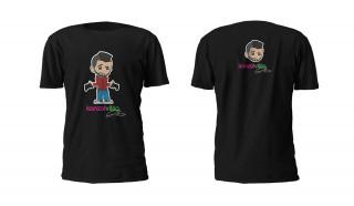 Konzolvilág Ricsi Póló (Fekete, XL) Ajándéktárgyak