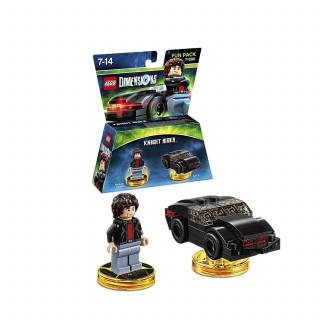 LEGO Dimensions Knight Rider Fun Pack (Michael Knight & KITT) Ajándéktárgyak