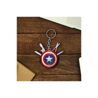 Marvel Avengers Captain America Multi Tool kulcstartó Ajándéktárgyak