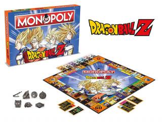 Monopoly Dragon Ball Z Edition (Angol nyelvű) Ajándéktárgyak